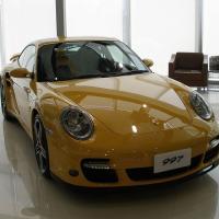 Porsche 1024px yellow porsche 997 turbo bangkok