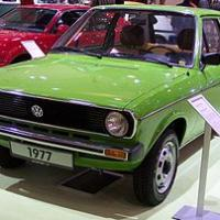 Volkswagen 280px vw polo ls i 1977 green vl tce